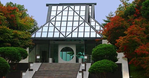 Mi Moleskine Arquitectónico: I.M.PEI: MUSEO MIHO Y LOS DURAZNOS EN FLOR.