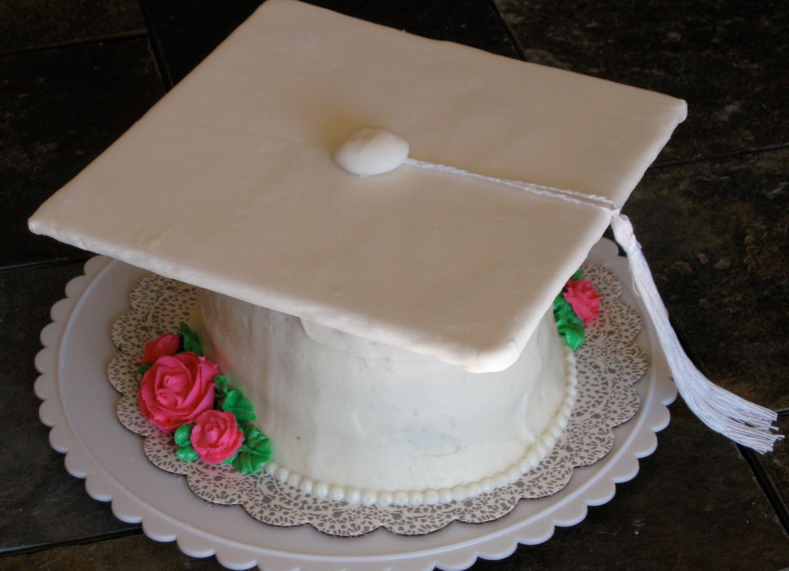 Graduation Cake Recipes Pictures : Cattapan s Cookies & Cakes: Graduation Cap Cake