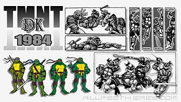 TMNT 1984 by DK Ps3 themes free downloads