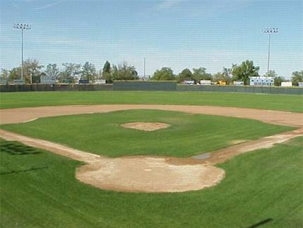 Inland Tarp Athletic Baseball Field Cover