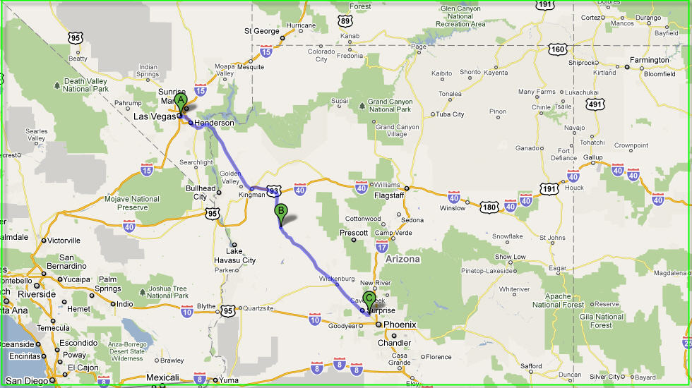 Ted39s Excellent Adventure Leaving Las Vegas Raising Arizona