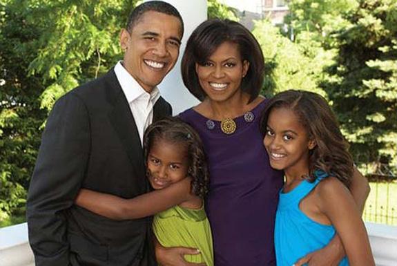 obama a family