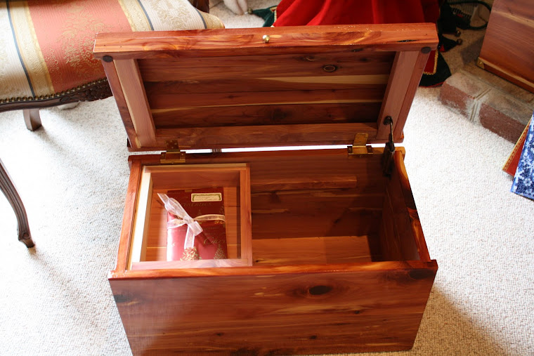 Small cedar chest for grand daughter