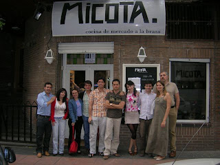 Club zampon restaurante micota calle castello 18 madrid - Calle castello madrid ...