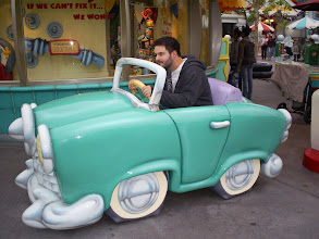 Chad cruising in Toon Town! Serious Business!