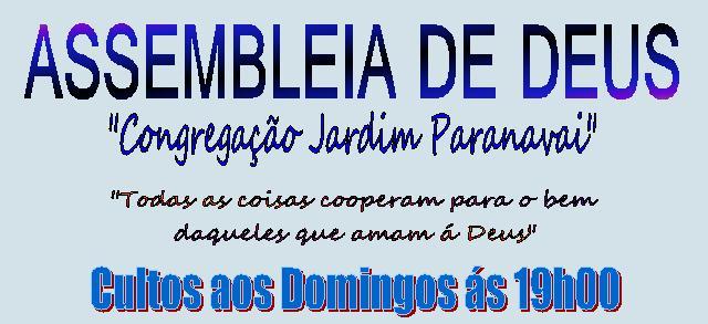 ASSEMBLEIA DE DEUS JD PARANAVAÍ