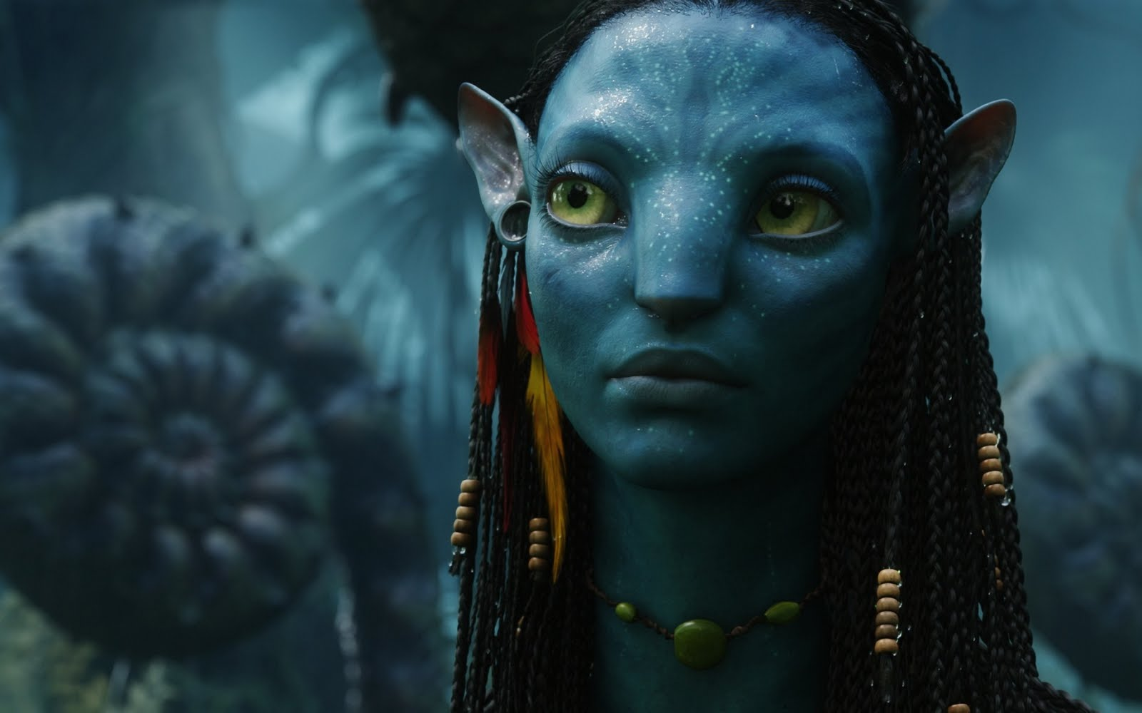 zoe saldana as neytiri in avatar wallpapers - Gallery Neytiri Avatar Wiki Wikia