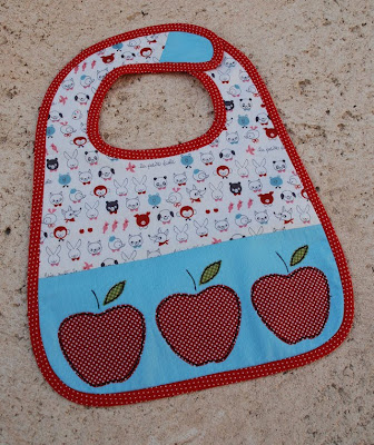 apple bib tutorial