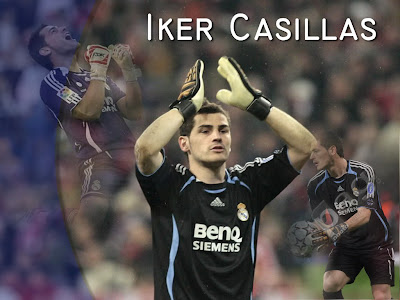 Iker Casillas Best Goalkeeper