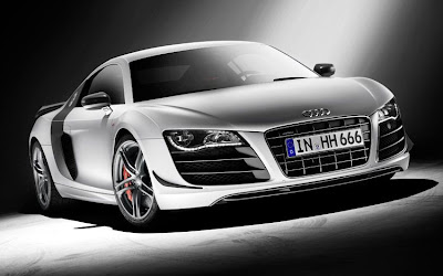 2011 Audi R8 GT Front Angle View