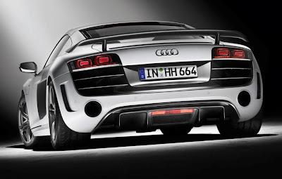 2011 Audi R8 GT Rear View