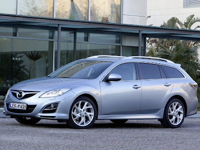 Mazda 6 Wagon Official Pictures