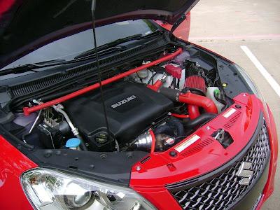 2010 Suzuki Kizashi Turbo Concept Engine View
