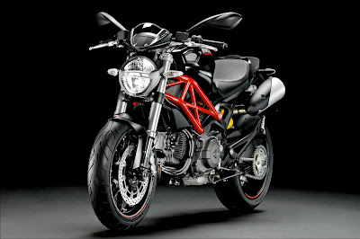 2011 Ducati Monster 796 Front Angle View