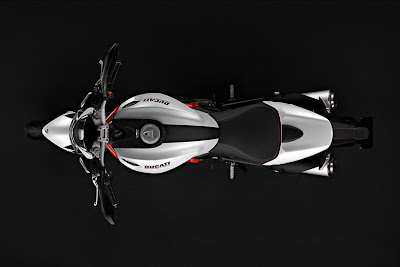2011 Ducati Monster 796 Overhead