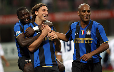 Inter Milan Celebration