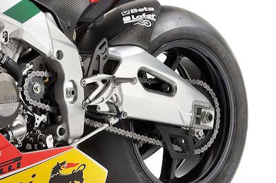 Aprilia RSV4 Max Biaggi Replica Rear Wheel