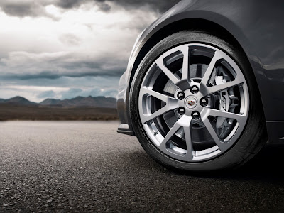 2011 Cadillac CTS-V Coupe Wheel