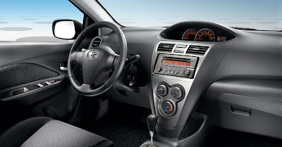 2010 Toyota Yaris Interior