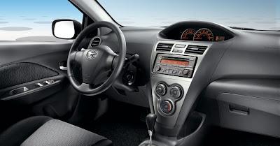 2010 Toyota Yaris Interior