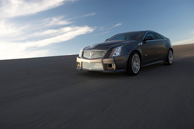 2011 Cadillac CTS-V Coupe First Look