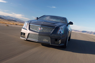 2011 Cadillac CTS-V Coupe Front View