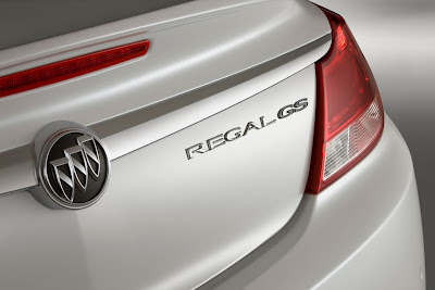 2010 Buick Regal GS Concept Taillight