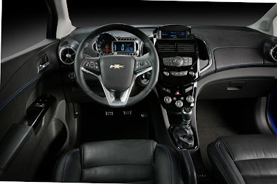 2010 Chevrolet Aveo RS Car Interior