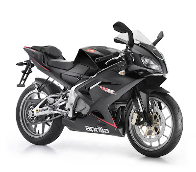 2010 Aprilia RS125 Black Color