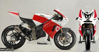 2010 Bimota HB4 Moto2 Pictures