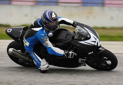 2010 Bimota HB4 Moto2 Action