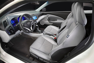 2011 Honda CR-Z Sport Hybrid Coupe Seats