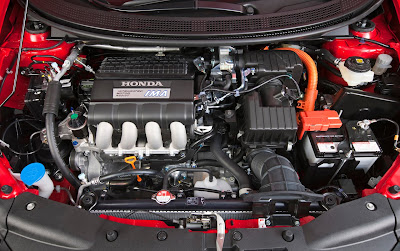 2011 Honda CR-Z Sport Hybrid Coupe Engine