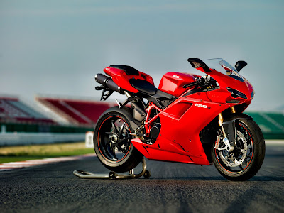 2010 Ducati 1198S Red Color