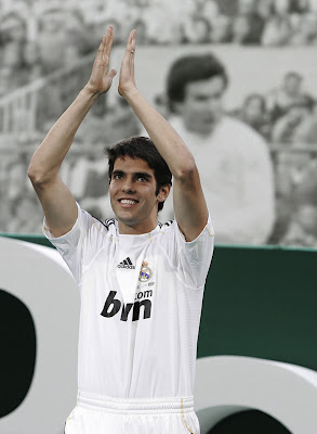 Kaka Real Madrid Poster