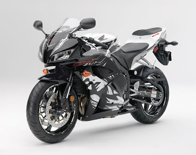 2010 Honda CBR600RR ABS Front Side View