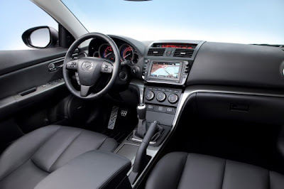 2011 Mazda6 facelift Interior