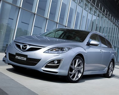 2011 Mazda6 facelift Front Angle View