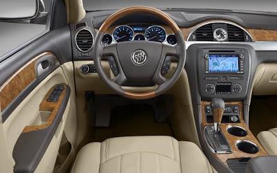 2010 Buick Enclave Interior