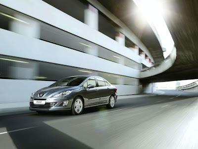 2011 Peugeot 408 Luxury Sedan