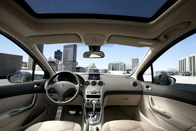 2011 Peugeot 408 Interior