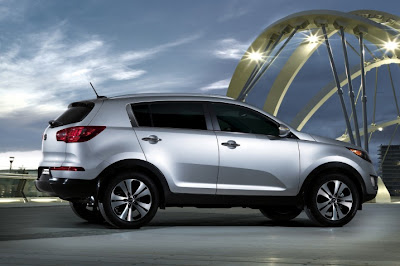 2011 Kia Sportage Side View