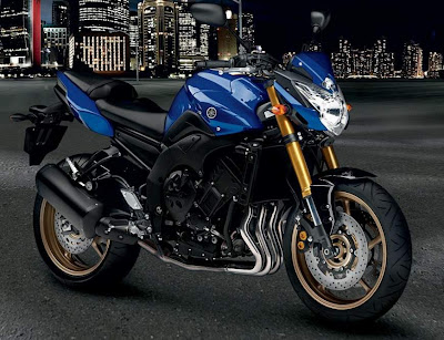 2010 Yamaha FZ8 Blue Color