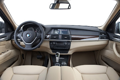 2011 BMW X5 Car Interior