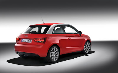 2011 Audi A1 Rear Side View