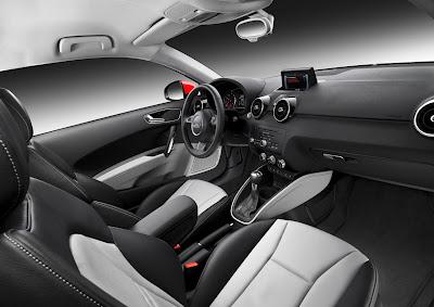 2011 Audi A1 Interior