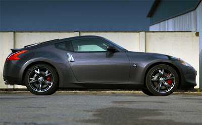 2010 Nissan 370Z Black Edition Side View
