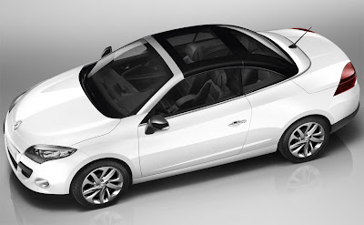 2011 Renault Megane Coupe Cabriolet Side Top View