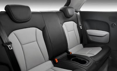 2011 Audi A1 Seats