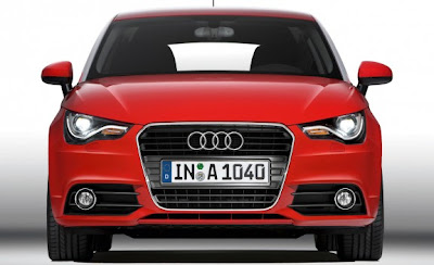 2011 Audi A1 Front View